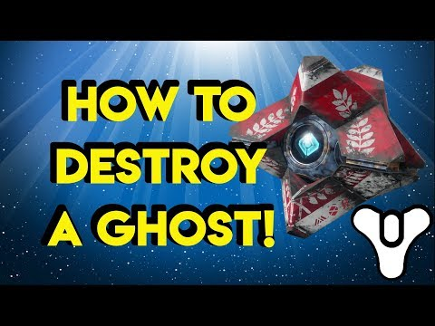 Destiny 2 Lore How to DESTROY a Ghost! | Myelin Games