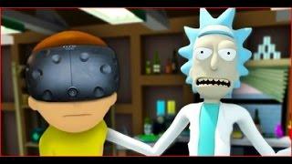 WUBBA LUBBA DUB DUB   Rick And Morty VR HTC Vive Virtual Reality