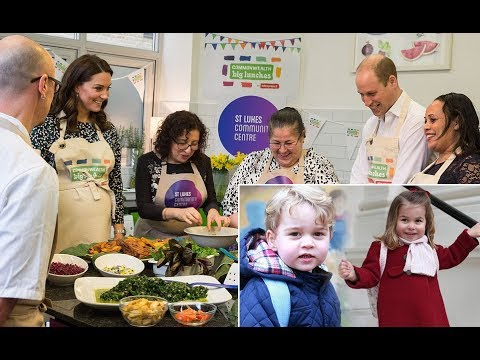 Kate Middleton reveals Prince George and Princess Charlotte love making pizza