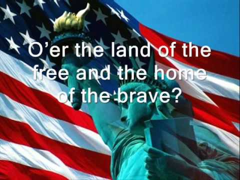 USA National Anthem with lyrics  Jaimina Johnston