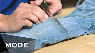 3 DIY Denim Ideas for Your Jeans   Glam It Yourself ★ Glam.com