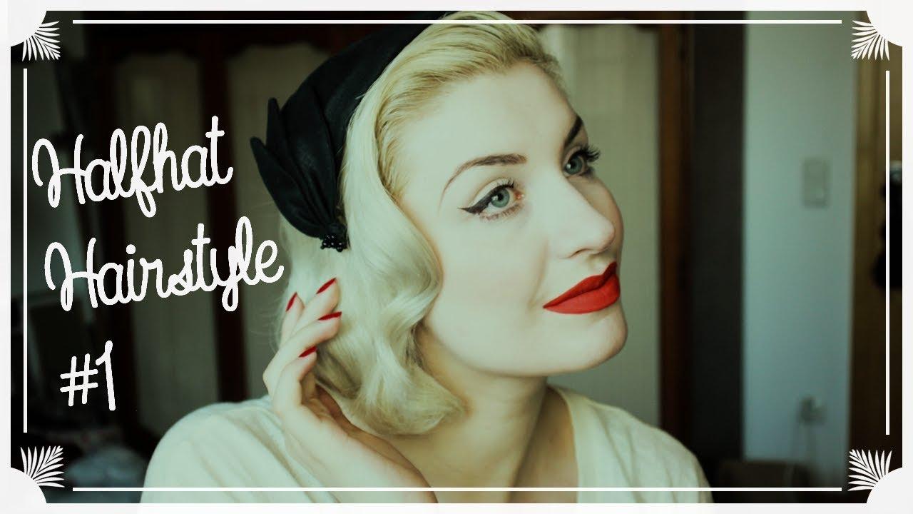 Halfhat Hairstyle Grace Kelly Inspirierte Frisur Mit Hut