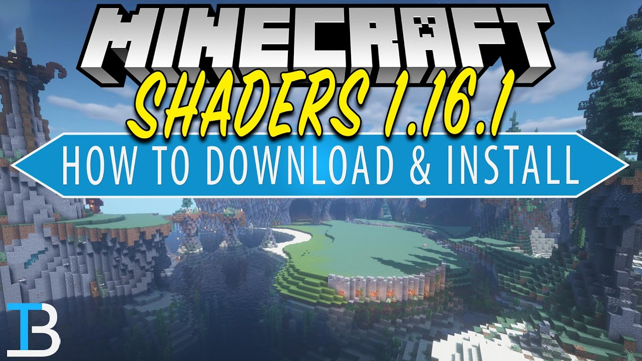 How To Download & Install Shaders on Minecraft 1.16.1 (PC)