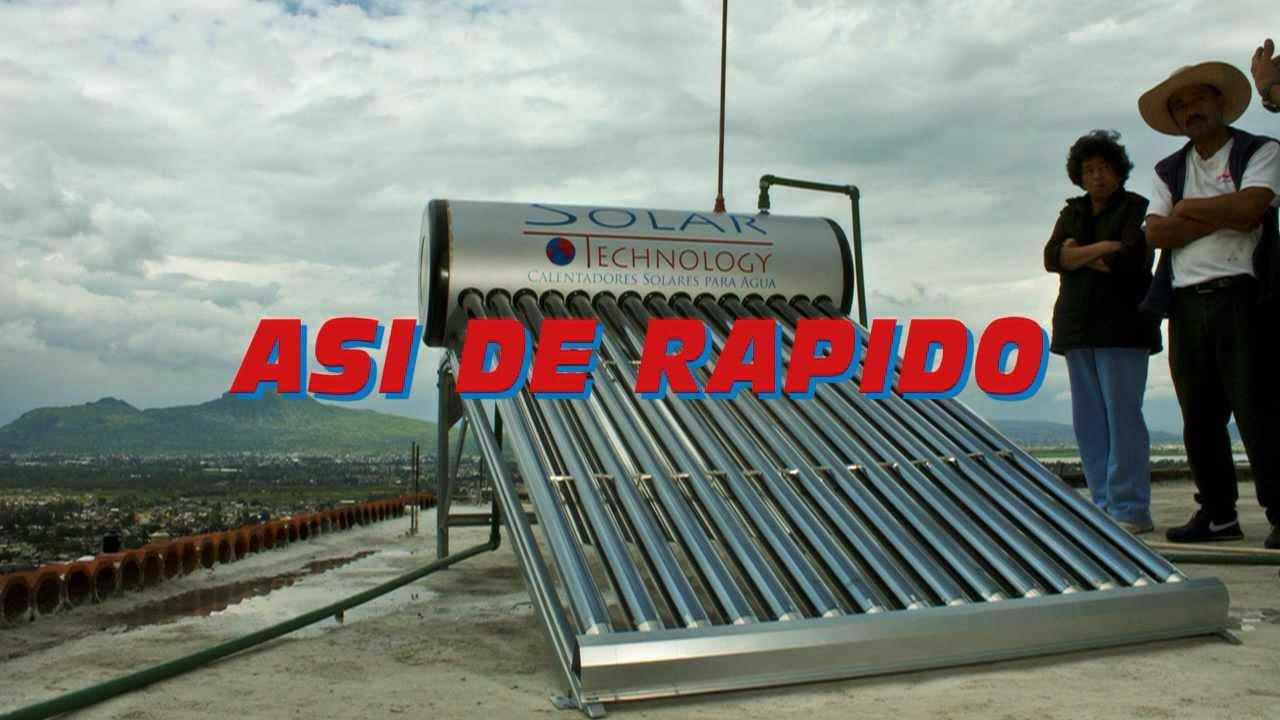 As de rapido es instalar un calentador solar youtube - Como instalar suelo radiante ...
