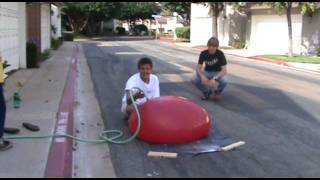 The Biggest Water Balloon You Have Ever Seen