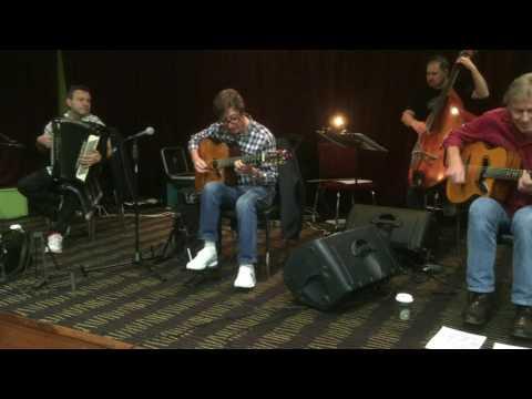 Hank Marvin Gypsy Jazz (November) 2015 - Rehearsal - Wellington, NZ