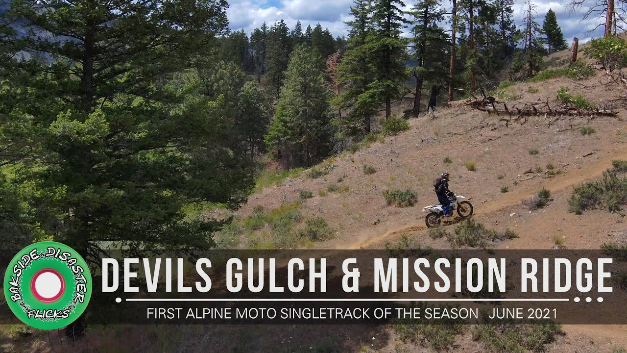 Washington Moto Singletrack Devils Gulch & Mission Ridge trail riding  // June 2021