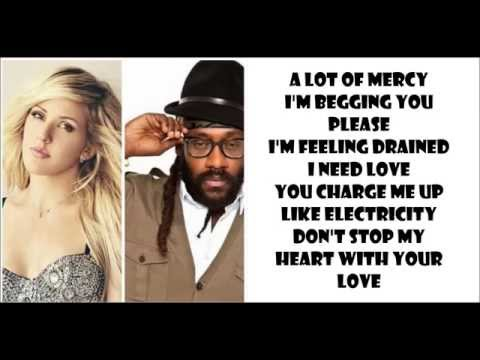 Major Lazer - Powerful ft. Ellie Goulding, Tarrus Riley (lyrics) [pitched audio]