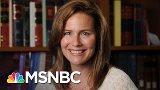 Who is Amy Coney Barrett, Trump's Front-Runner For Ginsburg's Seat? | MSNBC