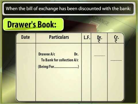 Bills of Exchange Dishonour and Renewal of a Bill - Class 11
