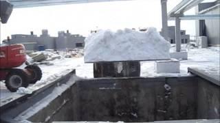 Снегоплавильная установка ОСА-90