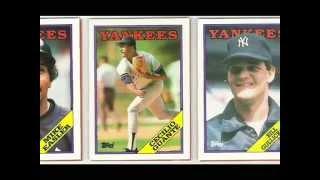 New York Yankees of the 1980's Topps MLB Baseball Cards