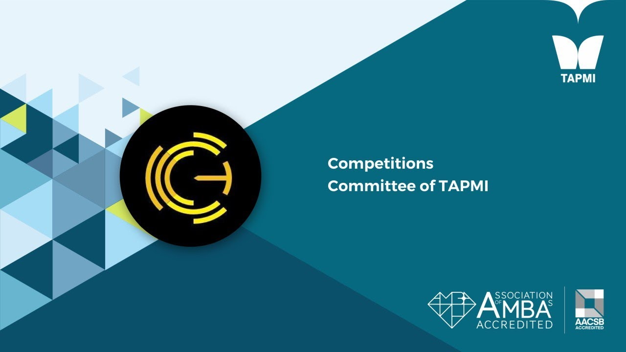 Competitions Committee of TAPMI