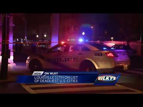 New Study Ranks Louisville 11th-deadliest U.S. City