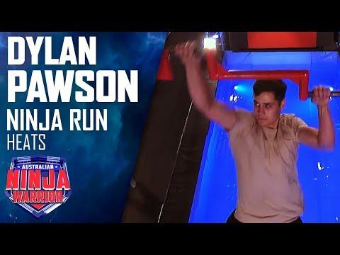 Dylan Pawson's epic run   Australian Ninja Warrior 2019