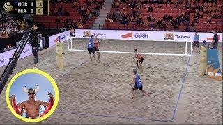 Mol.A/Sørum (NOR) vs. Aye/Gauthier-Rat (FRA) FIVB 4-Star The Hague 2019