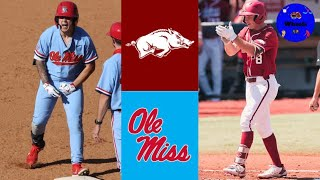 #2 Arkansas v #3 Ole Miss Highlights (MUST WATCH, GAME OF THE YEAR) 2021 College Baseball Highlights