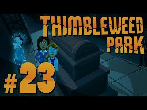 Thimbleweed Park - Chuck's Tomb - PART #23