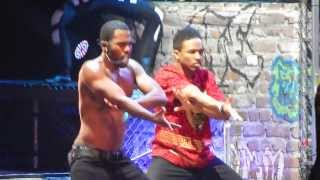 Jason Derulo - Breathing - ( Brussels, forest national ) 23.02.1014 HD - Tattoos World Tour