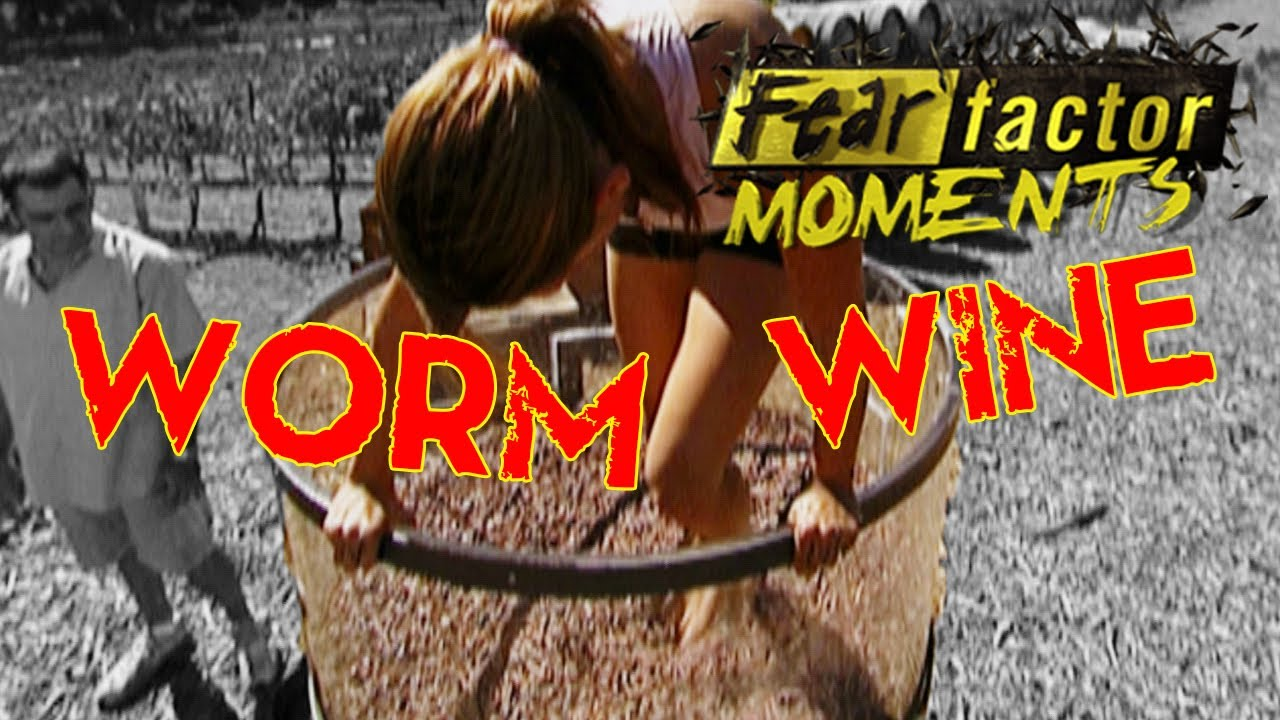 05.20.2004 - To elicit disgust in her experimental ...  Fear Factor Worms
