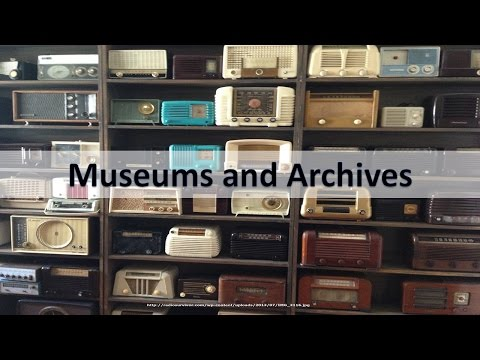 Museums and Archives for Public Historians