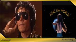 Michael Jackson Solo Recording We are the world