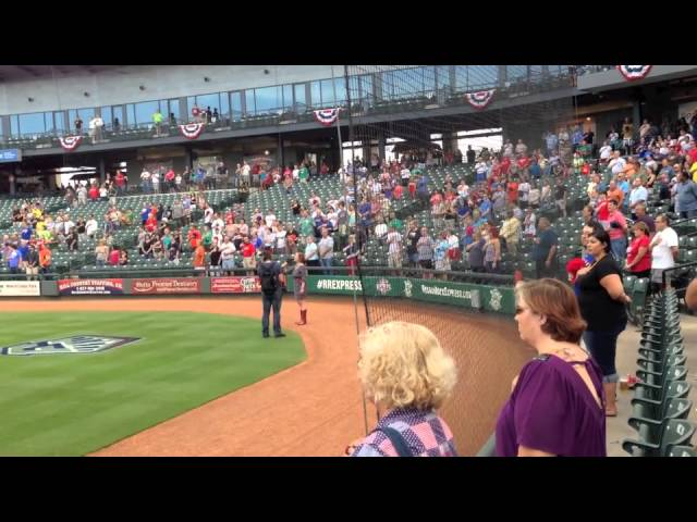 National Anthem, Jen Hitt, Round Rock Express