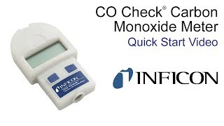 Quick Start Video CO Check Carbon Monoxide Meter - INFICON