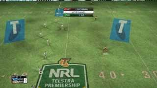 Rugby League Live 2 | Sharks vs Tigers DLC 2013 | Gameplay