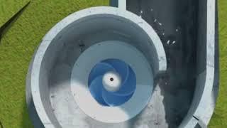 Turbina hidroeléctrica puede dar energía a poblaciones