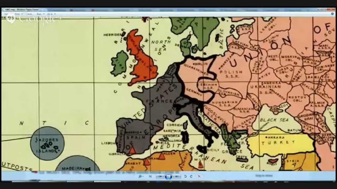 MUST SEE 1942 Map shows plan for a New World Moral Order !!! - YouTube