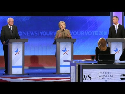 Democratic debate focuses on national security - YouTube