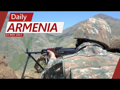 Armenia Says Part of Azerbaijani Forces Have Retreated Back