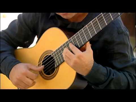 how to play somewhere my love on guitar