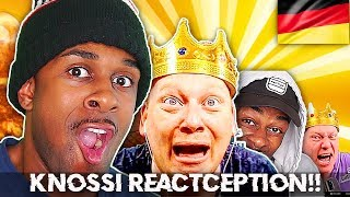 REACT-CEPTION!!!!! GERMAN YOUTUBER KNOSSI REACTED TO MY REACTION OF HIM REACTING TO ME !!!!!!