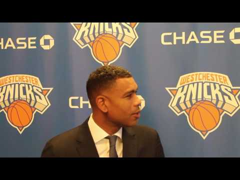 Westchester Knicks GM Allan Houston discussed the importance of maintaining continuity between the D-League and NBA squad.