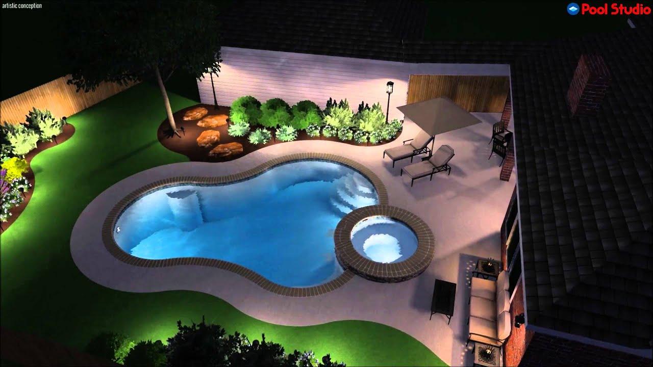 Platinum Pools The Johnson Family Designed By Brandon