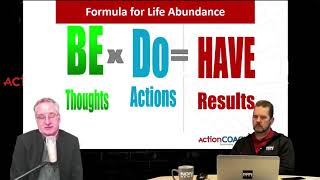 Seeking Abundance? BE x DO = HAVE. Proven SUCCESS formula on The Business Forum - ActionCOACH MN