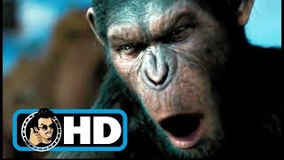 Rise of the Planet of the Apes (2011) Movie Clip - Caesar Speaks |FULL HD| Andy Serkis