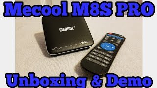 Mecool M8S Pro Android TV Box Unboxing and Review (2017)