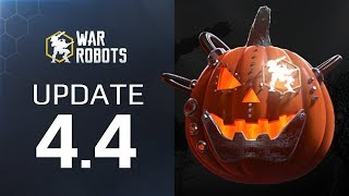 Update 4.4 Overview: new map and Corrosion weapons — War Robots