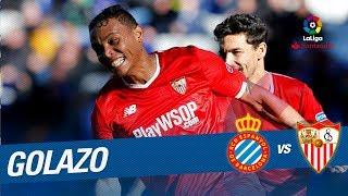 Golazo de Muriel (0-3) RCD Espanyol vs Sevilla FC