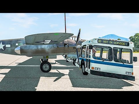 Flight Simulator, But With Real Life Crash Physics