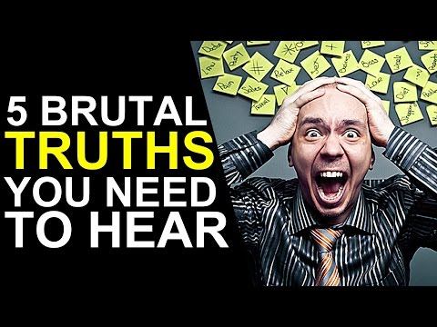 5 Brutal Truths About Life You NEED to Hear (Animated)