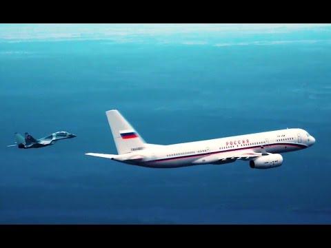 Самолет Президента (HD).