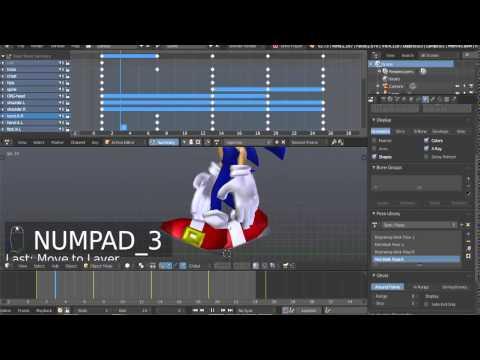 Animating Sonic The Hedgehog