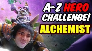 GLOCO's DOTA 2 A-Z HERO CHALLENGE! - ALCHEMIST