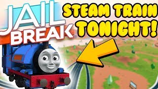 JAILBREAK STEAM TRAIN UPDATE TONIGHT! *LEAKS + NEWS* (Roblox)