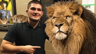 Khabib Nurmagomedov 'childhood dream' To Africa | UFC Champ In Nigeria Building Wells