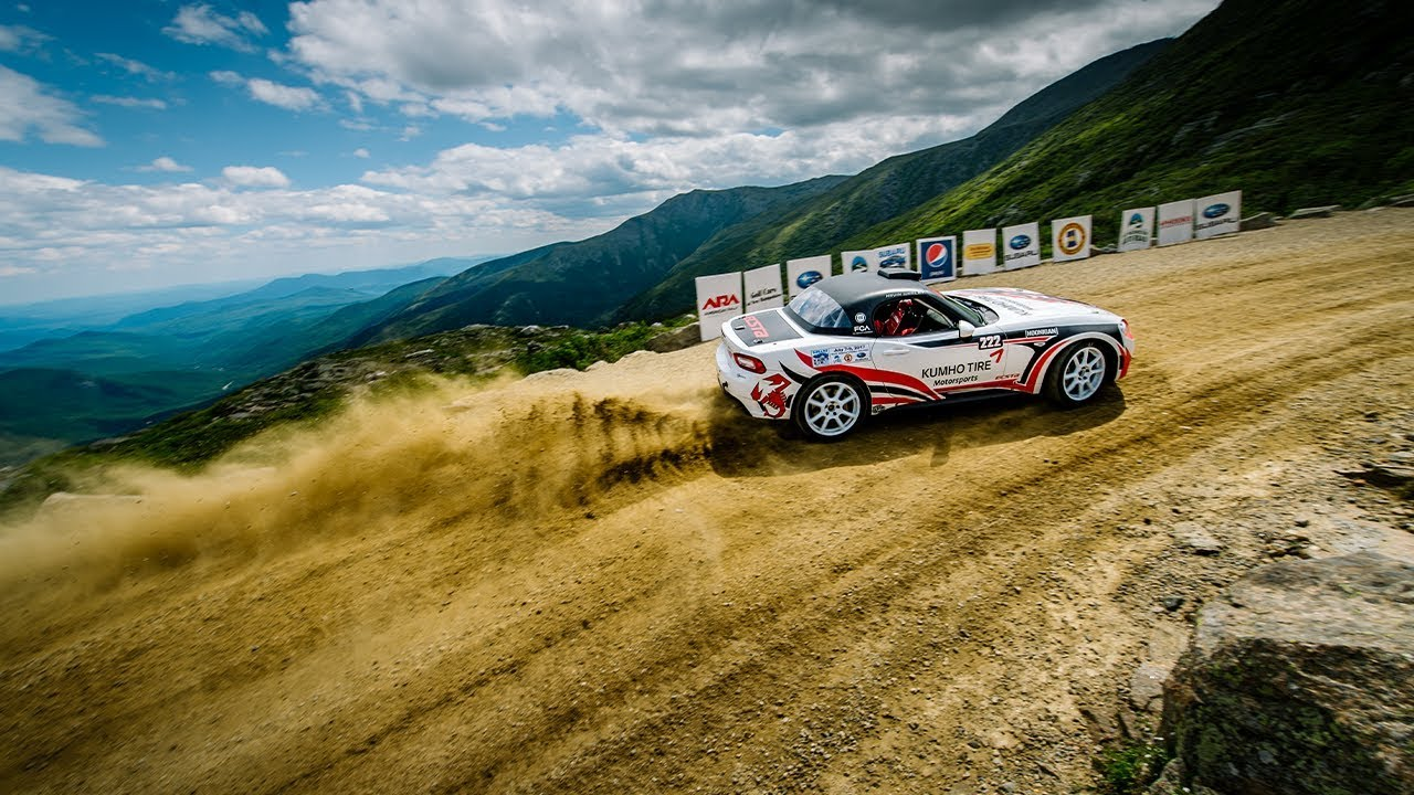 Mt Washington Hill Climb >> 2017 Mt Washington Hill Climb In A Fiat 124 Rally Car